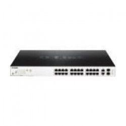D-LINK Switch EasySmart 26-Ports - DGS-1100-26MP - Poe Gigabit, budget 370 watts