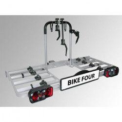 Porte-vélos sur attelage 4 vélos