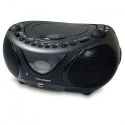 METRONIC 477135 Radio mp3 Bluetooth - Noir