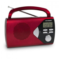 MET 477201 Radio portable Rouge