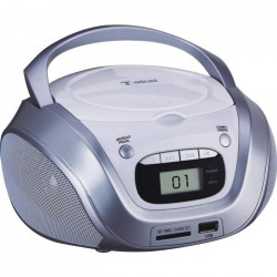 TOKAI TB208W Radio CD MP3/USB Blanc et Argent
