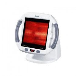 Lampe infrarouge et minuteur BEURER IL 50 - 300 W - Arret automatique - 27 x 28,5 x 19,5 cm