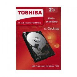 TOSHIBA Disque dur interne P300 - 2 To - 64 Mo - 3,5`` - 7200 Tours/min (HDWD120EZSTA)