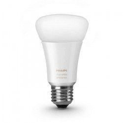 PHILIPS Hue Ampoule LED connectée White Ambiance E27 9 W équivalent a 60 W blanc chaud