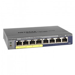 NETGEAR Switch Web Managed (Plus) Prosafe 8-Ports Gigabit (Plus) et 4-Ports Poe GS108PE-300EUS