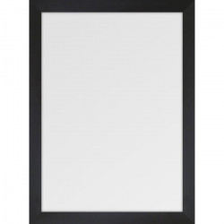 BASIC Miroir rectangulaire 50x70 cm Noir