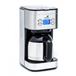SENYA SYBF-CM025 Cafetiere filtre Hot Coffee - Inox