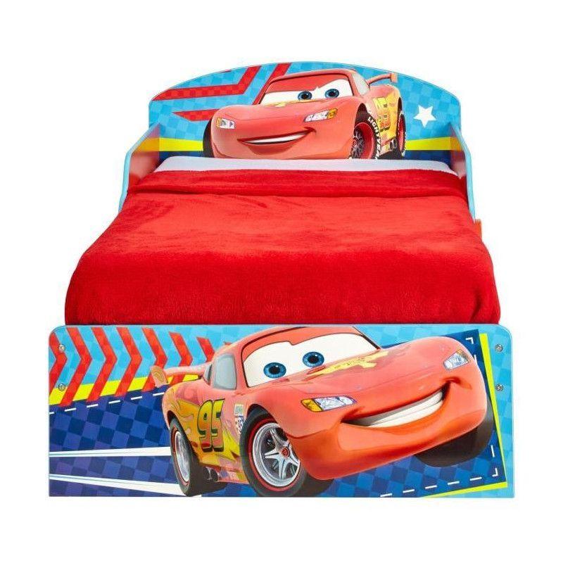 cars lit enfant en bois hello home 70 140 cm worlds. Black Bedroom Furniture Sets. Home Design Ideas