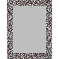 VENISE Miroir MDF 47x137 cm Argenté brillant