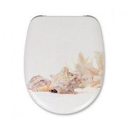 CEDO Abattant Malibu Beach Shell 46x38,3x4,9cm