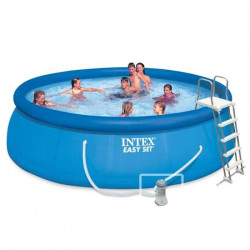 INTEX Kit piscine autoportée Easy Set - 457 x 122 cm