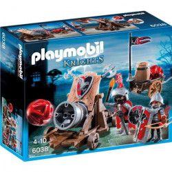PLAYMOBIL 6038 - Knights - Chevaliers avec Canon Géant