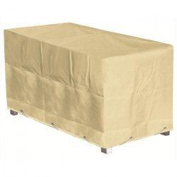 GREEN CLUB Housse de protection pour table - 300x120x65 cm - Beige