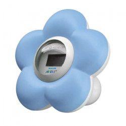 PHILIPS AVENT Thermometre Bain + chambre Numérique SCH550/20 - Bleu