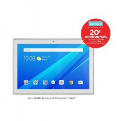 LENOVO Tablette Tactile Tab 4 10-X304F 10,1` HD - RAM 2Go - Android 7.0 - Qualcomm MSM8917 - Stockage 16Go - WiFi