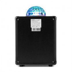 IBIZA SOUND KUBE60-SI Enceinte portable autonome avec effet de lumiere astro a LED rvb