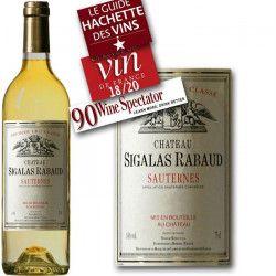 Château Sigalas Rabaud Sauternes 2005 - Vin Blanc