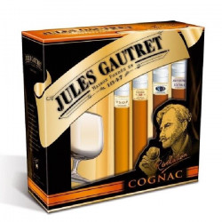 Coffret Jules Gautret Cognac Révélation