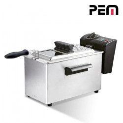PEM DF-132 Friteuse électrique semi-professionnelle - Inox