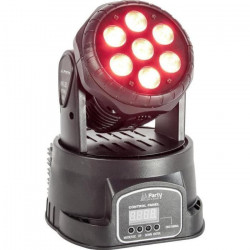 PARTY PARTY-WASH7 Lyre Wash 7 LED RVBB - 8W
