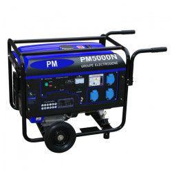 Groupe électrogene 4500 W 230 V - Moteur essence 4 temps