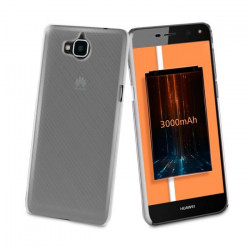 Muvit Coque Crystal Transparente pour Huawei Y6 2017