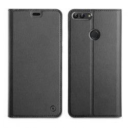 Muvit Etui folio Noir pour Huawei P Smart