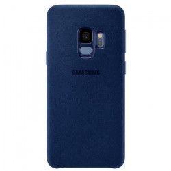Samsung Coque en Alcantara S9 - Bleu