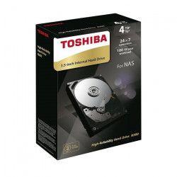Toshiba Disque Dur interne NAS N300 3,5`` Boite Retail - 4To