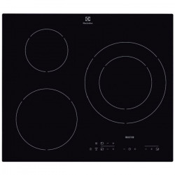 ELECTROLUX E6113HIK Table de cuisson Induction - 3 zones - 7200W - L56 x P49cm - Revetement verre - Noir