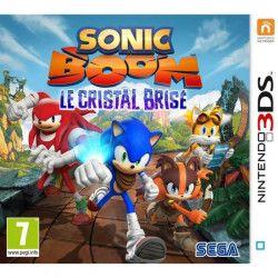 Sonic Boom : Le Cristal Brisé Jeu 3DS