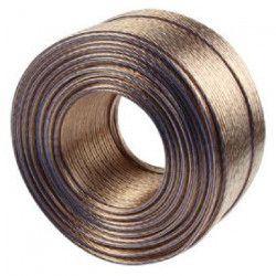 VALUELINE LSP-051RLC Câble haut-parleur en bobine - 2x 2.50 mm² - 100 m - Transparent