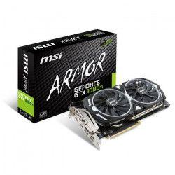 MSI Carte graphique GeForce GTX 1080 TI ARMOR 11G OC - 11Go - GDDR5X