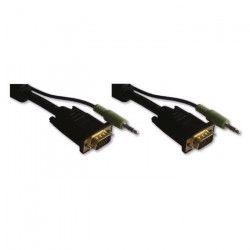 LINEAIRE XPCHD168H Câble VGA mâle / mâle + sortie audio 10m00