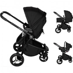 RENOLUX Pack Trio Poussette Travel Systeme Équation Griffin