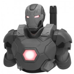 Tirelire Marvel War Machine Mark III Gris