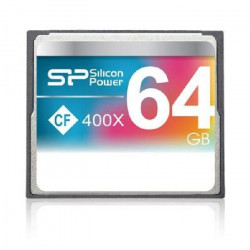SILICON POWER Carte mémoire Compact Flash 400X - 64 Go