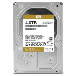 WD Disque dur interne Gold - 4To - 128Mo - 3.5` WD4002FYYZ