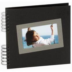 PANODIA Album photo traditionnel Tais - 40 pages - 25 x 23 cm - Noir