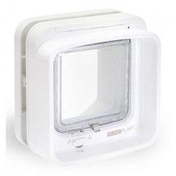SUREFLAP DualScan Chatiere a puce électronique blanc
