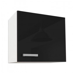 START Meuble haut de cuisine L 60 cm - Noir Brillant