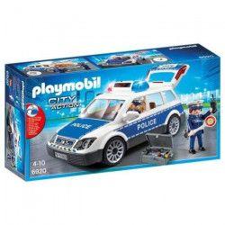 PLAYMOBIL 6920 - City Action - Voiture de Police avec Gyrophare et Sirene