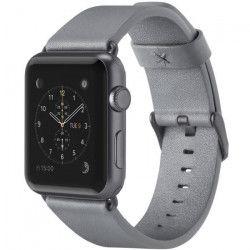 Belkin Bracelet pour montre connectée pour Apple Watch - Cuir - 38 mm - Gros