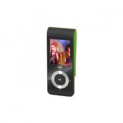 TREVI MPV 1728 SD Lecteur MP3 avec micro SD 4Go inclus - Noir / Vert
