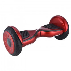 E-ROAD Hoverboard 10`` Rouge avec Sac