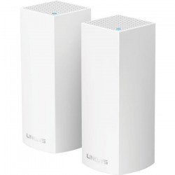 LINKSYS VELOP Systeme WiFi Multiroom AC4400 Tri-Bande avec Systeme MESH - 2 Bornes