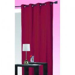 Rideau isolant thermique Rouge 140 x 260 cm