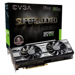 EVGA Carte Graphique GeForce GTX 1070 SC GAMING
