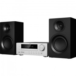 AKAI DM-1802S Micro-chaîne Bluetooth - 120W - Silver