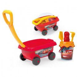CARS Smoby Chariot De Plage Garni - Disney